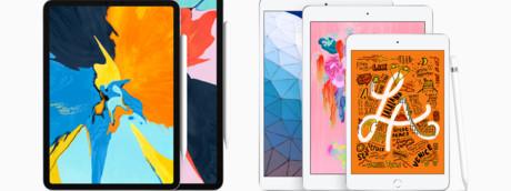 Gli iPad Mini e Air