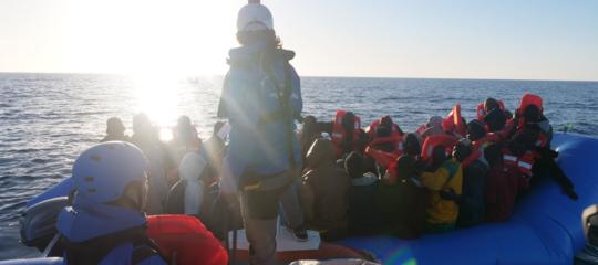 migranti mare jonioong mediterranea