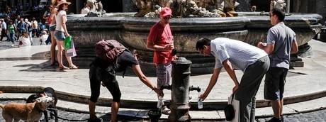 Italia tempo caldo afa estate - afp