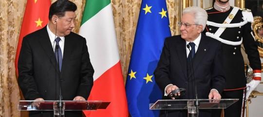 memorandum cina italia mattarella
