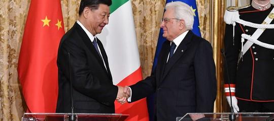 memorandum italia cina sondaggio