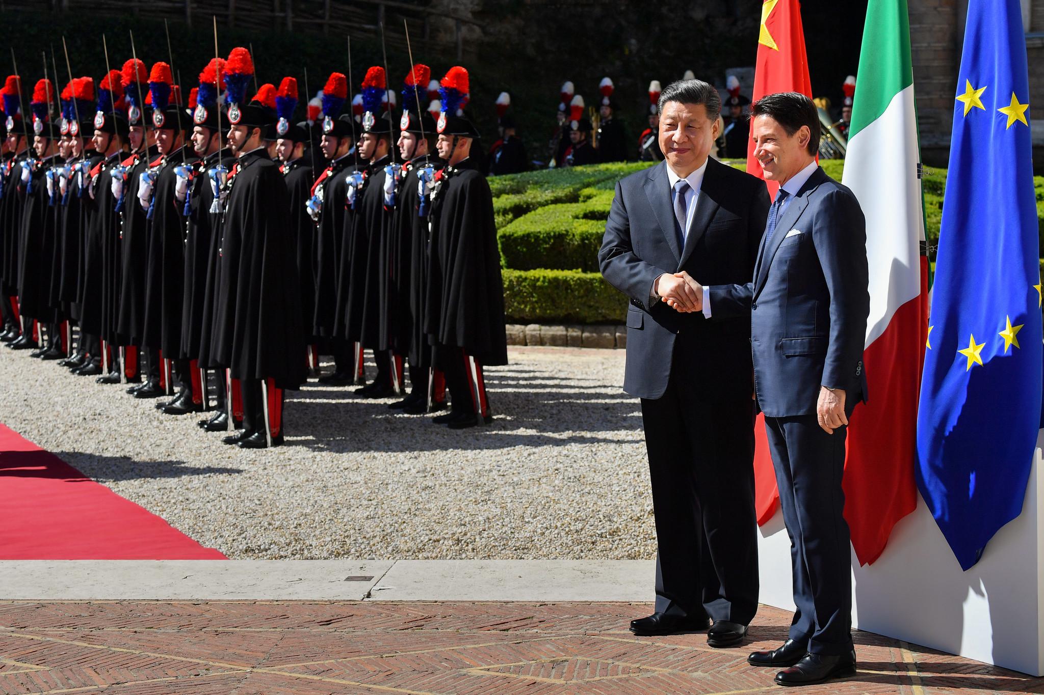 I capitoli del memorandum Italia Cina firmato da Conte e Xi