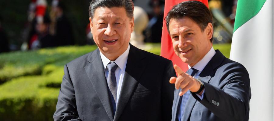 """Italia-Cina: Conte, """"Nessun pericolo per la sicurezza nazionale"""""""