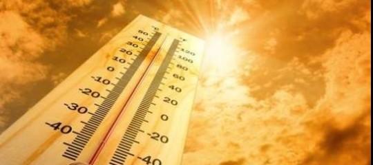 caldo clima meteo
