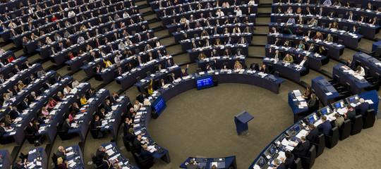 Europee, proiezioni Europarlamento