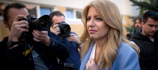 slovacchia zuzana caputova eletta presidente