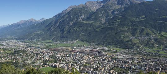 Precipita in Val d'Aosta ultraleggero
