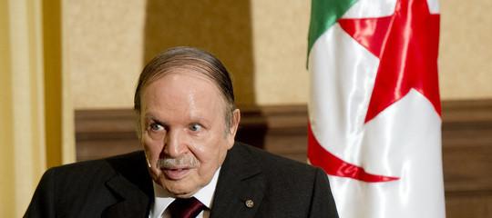 algeria dimissioni bouteflika