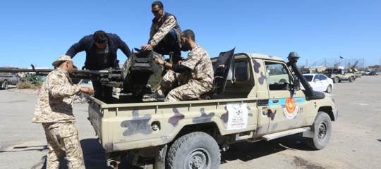 Libia Oms morti feriti
