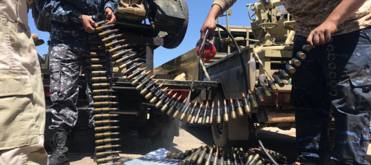 libia guerra haftar serraj