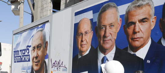 Israele exit poll