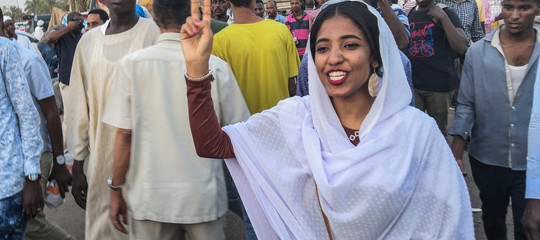 Sudan regina nubiana rivolta donne