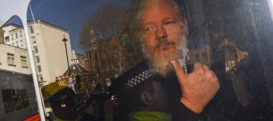 Assange carcere Svezia