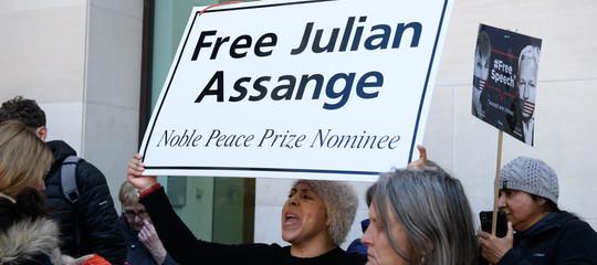 arresto assange liberta stampa