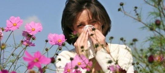 aumento allergie pollini