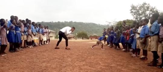 insegnante ballerino africa
