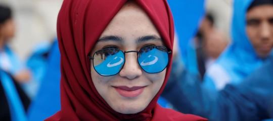 riconoscimento facciale cina uiguri