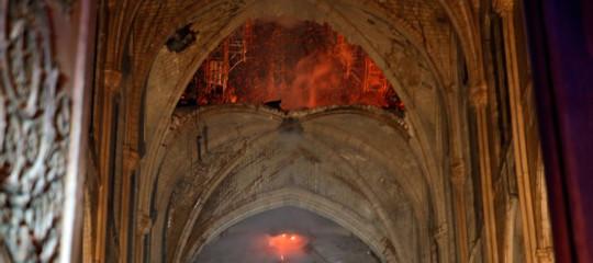 Notre Dame opere arte salve