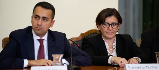 salvini trenta migrantri porti