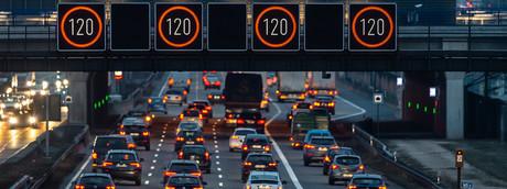 Germania, limite di velocità in autostrada