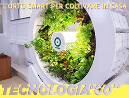 Come funziona l'orto smartper coltivare (anche) l'insalata in casa