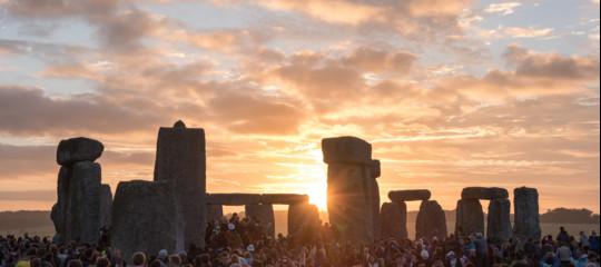 chi ha costruito stonehenge