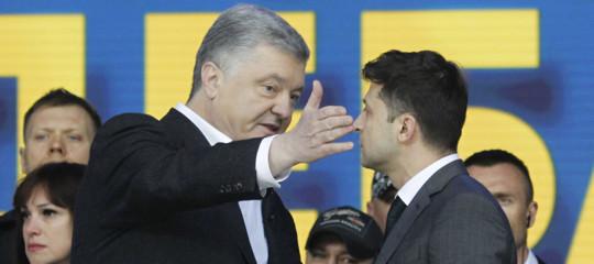 zelensky poroshenko ucraina