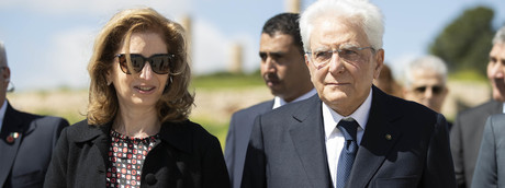 Laura e Sergio Mattarella