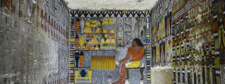 Tomba di Khuwy, Egitto