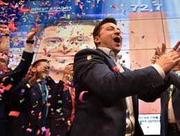 Ucraina: exit poll, Zelensky vince le presidenziali con il 73%