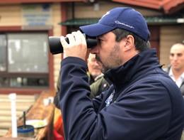 La foto col mitra è una polemica sul nulla, dice Matteo Salvini
