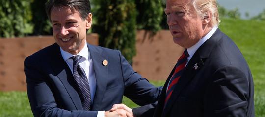 Trump telefona a Conte
