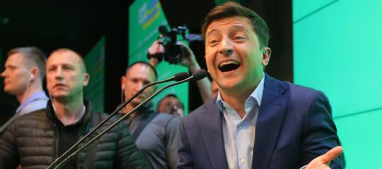 Ucraina elezioni social media