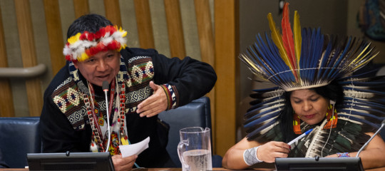 protesta indios amazzonia