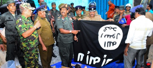 Sri Lanka blitz anti-Isis
