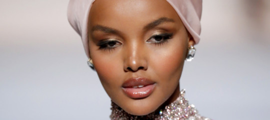 modella musulmana halima aden