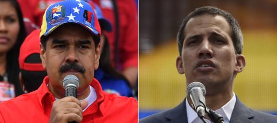 Venezuela Guaidò chiede rivolta militare