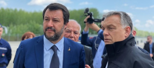 Europee Salvini Orban