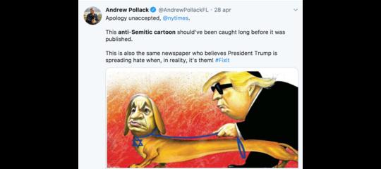 new york times vignetta antisemita