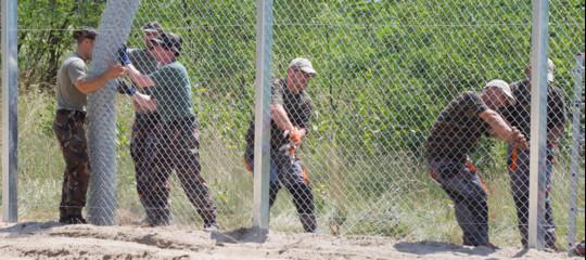 muro migranti orban salvini