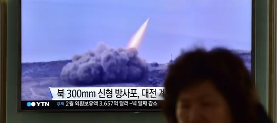 corea lancia razzi corto raggio