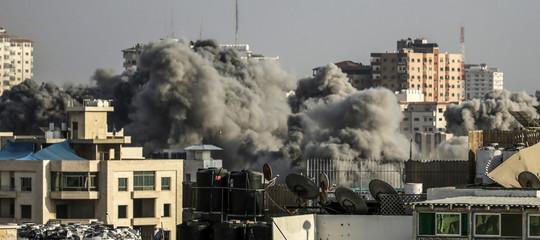 medio oriente gaza israele razzi