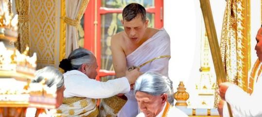 thailandia incoronazione cerimonia