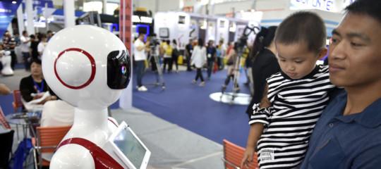 robot camerieri rapallo