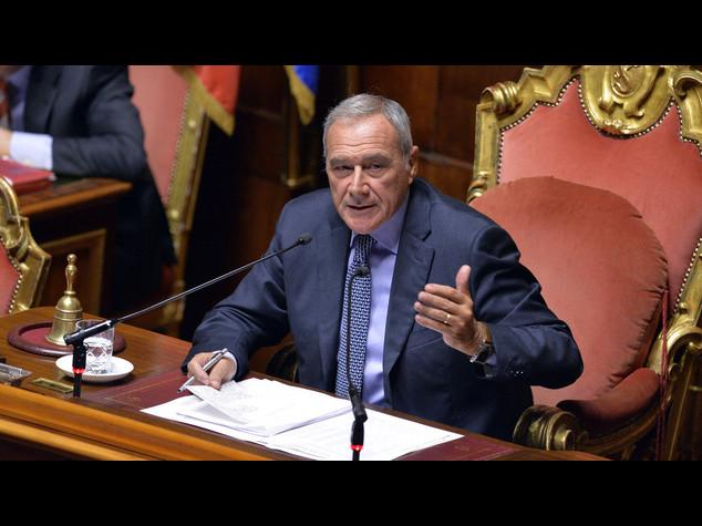 Riforme: Grasso, a governi forti corrispondano Parlamenti forti