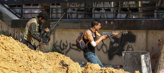 Libia scontri Tripoli Conte-Serraj