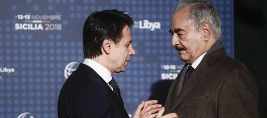 libia conte haftar