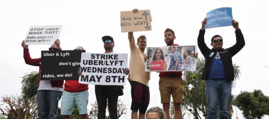 uber sciopero conducenti