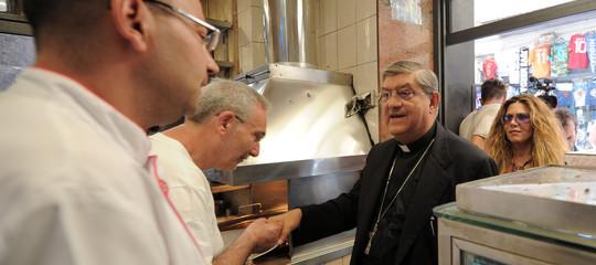 Bimba ferita Arcivescovo