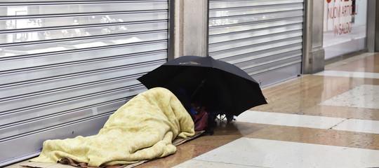 numero senzatetto italia roma